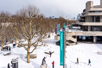 Snow on The Southbank