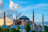 Hagia Sophia at Sunset