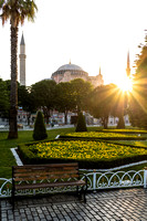Sunrise at Hagia Sophia