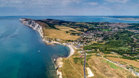Freshwater Bay from above